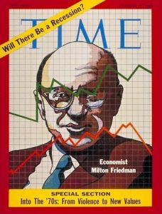 La copertina del Time dedicata a Friedman