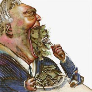 """La""""fame insaziabile"""" dell'uomo moderno"""