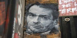 Un ritratto su un muro di Pierre Bourdieu