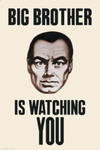 "Il ""Big Brother"" di George Orwell"