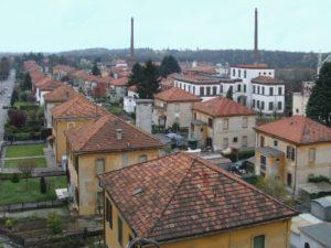 Crespi d'Adda in provincia di Bergamo