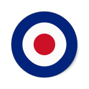 Il simbolo della Royal Air Force, adottato dai Mod