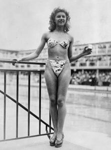 Micheline Bernardini, la prima indossatrice di un bikini