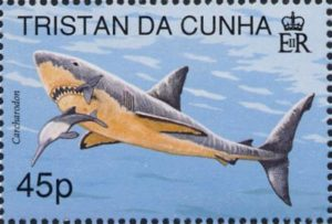 Un francobollo di Tristan da Cunha