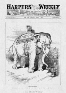 L'elefante simbolo del partito repubblicano