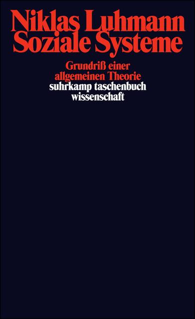 Sistemi sociali, edizione originale