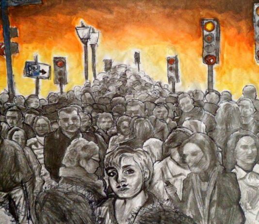La folla: tra mancanza di razionalità e spirito di imitazione