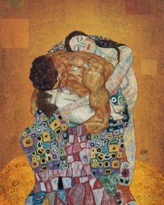 The family, Gustav Klimt