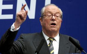 Jean-Marie Le Pen, leader del Front National francese