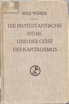 L'opera originale di Max Weber