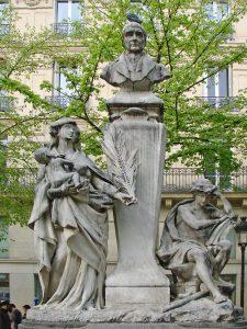 Monumento in onore di Auguste Comte a Parigi
