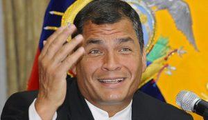Rafael Correa, presidente dell'Ecuador dal 2007