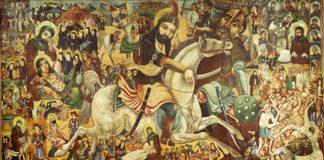Raffigurazione della battaglia di Karbala