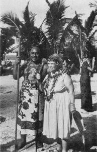 L'antropologa Margaret Mead a Samoa