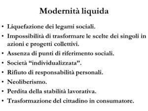 I concetti chiave della modernità liquida secondo Bauman