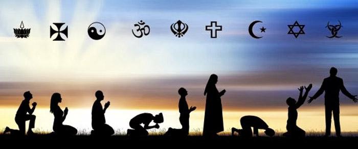 Forme tipiche di preghiera nelle varie religioni.