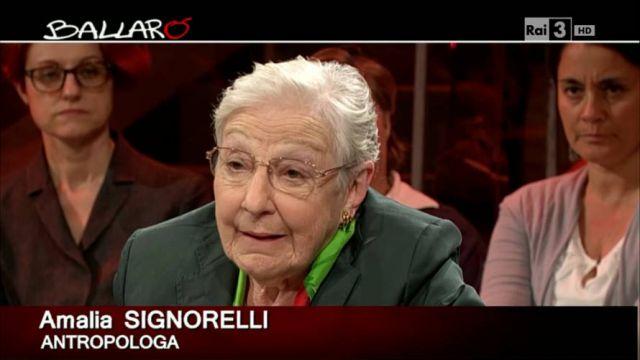 Amalia Signorelli, ospite fisso di Ballarò