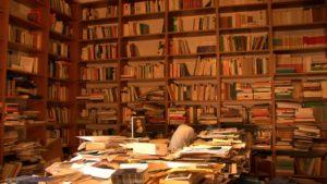 La sconfinata libreria di Franco Ferrarotti