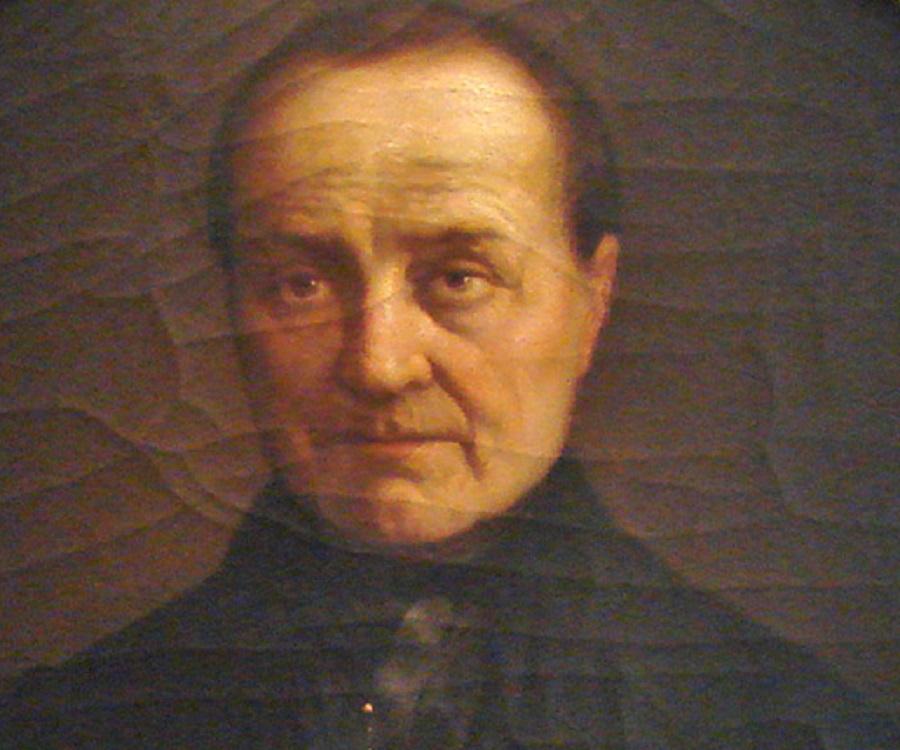 Dipinto raffigurante il sociologo francese