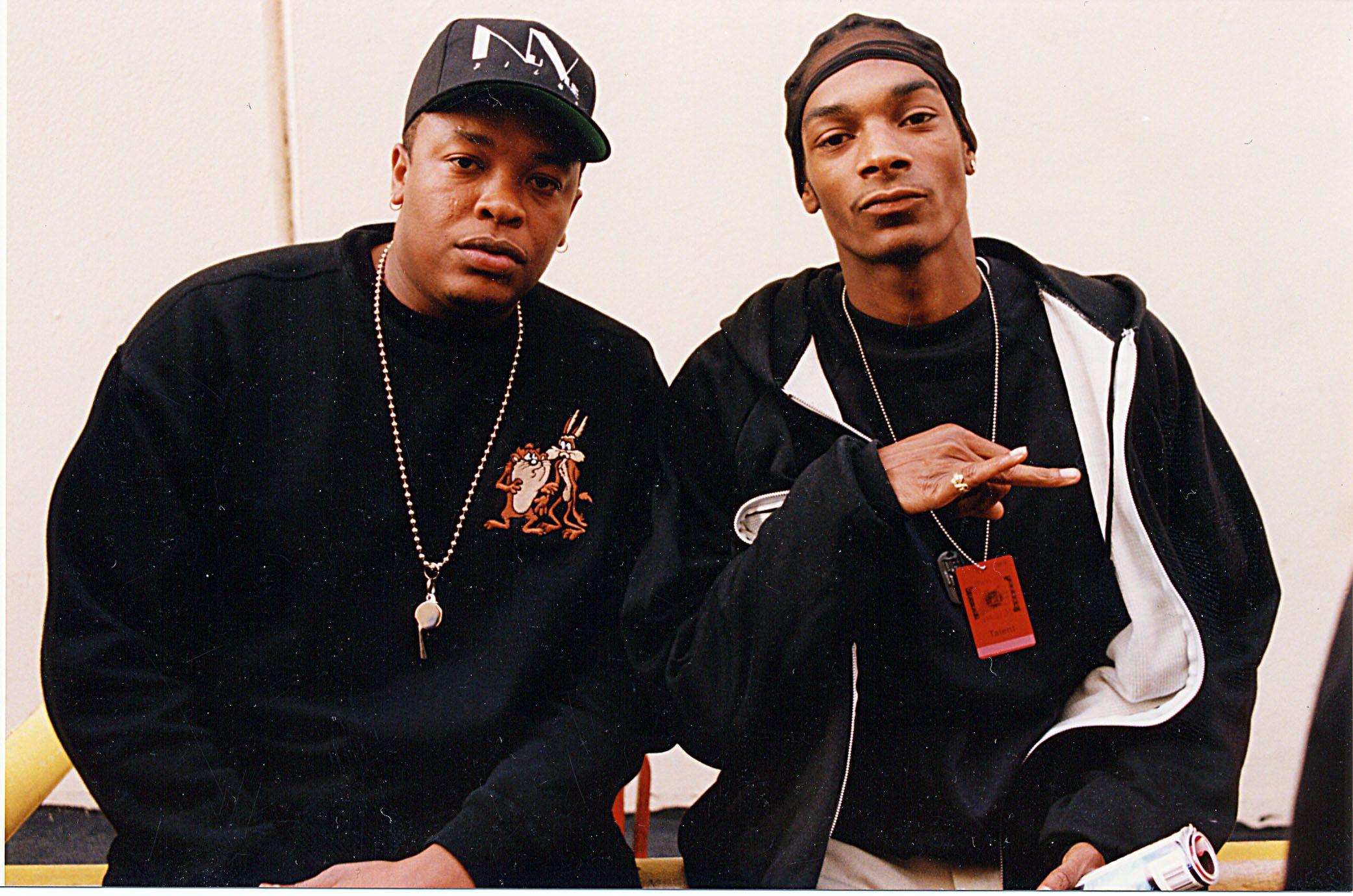 Dr. Dre con Snoop Dogg