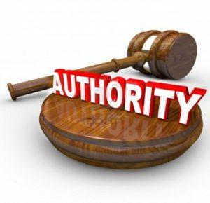 L'autorità si riferisce al potere accettato, cioè al potere che le persone accettano di seguire.