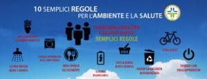 Le 10 regole per inquinare meno