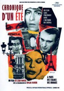 La locandina del film Chronique d'un étè