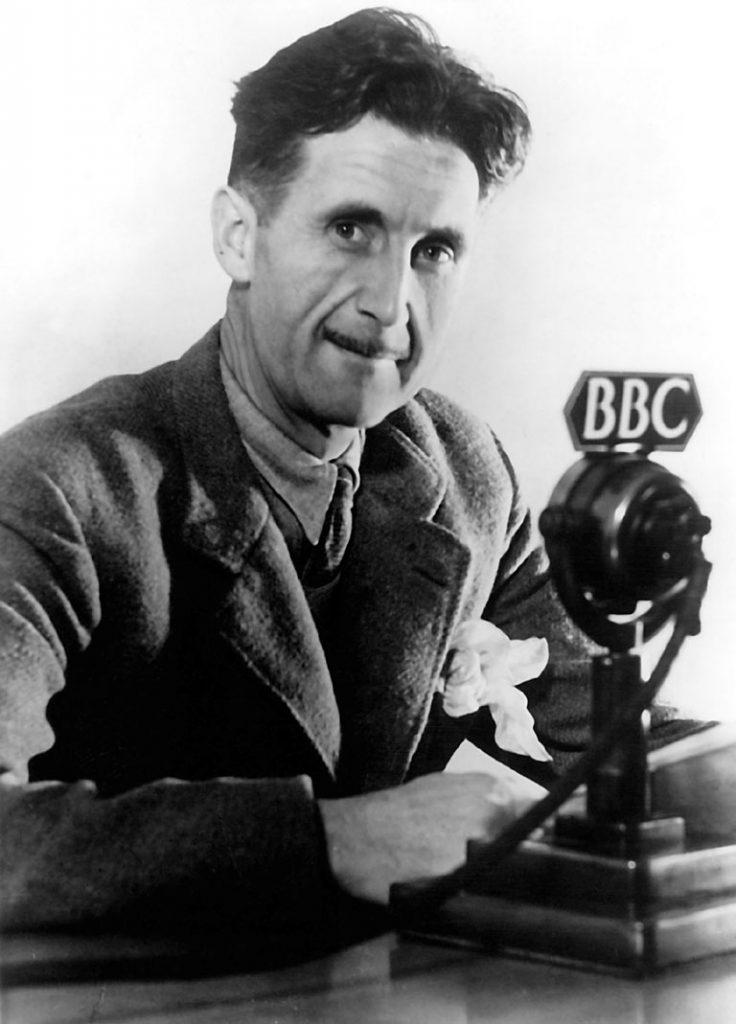 Lo scrittore George Orwell
