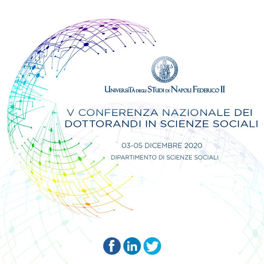 V Conferenza Nazionale dei Dottorandi in Scienze Sociali