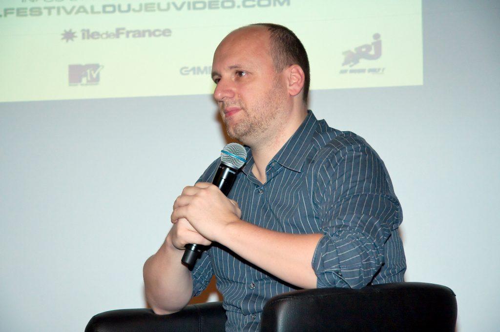 Il regista-creatore di videogiochi  David Cage