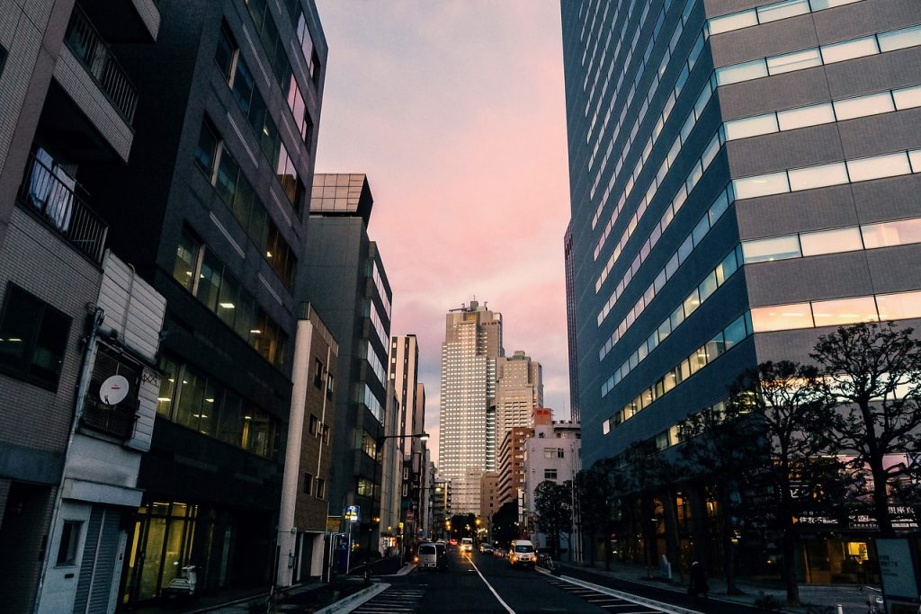 Tokyo palazzi