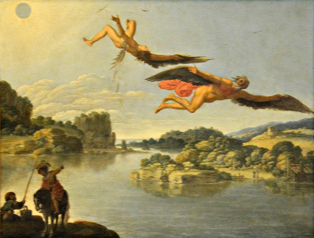 Paesaggio con caduta di Icaro, Carlo Saraceni