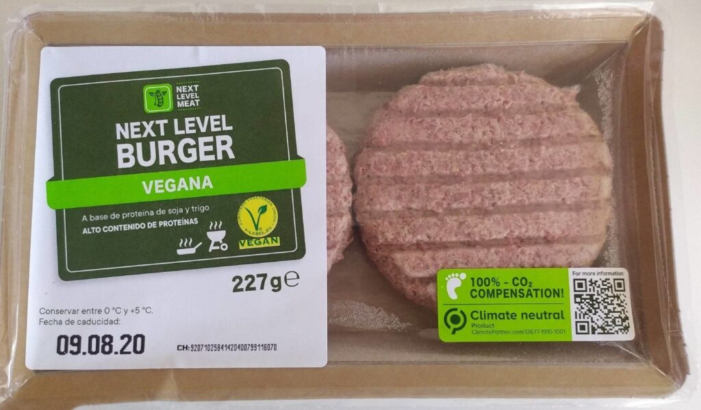 burger vegan food
