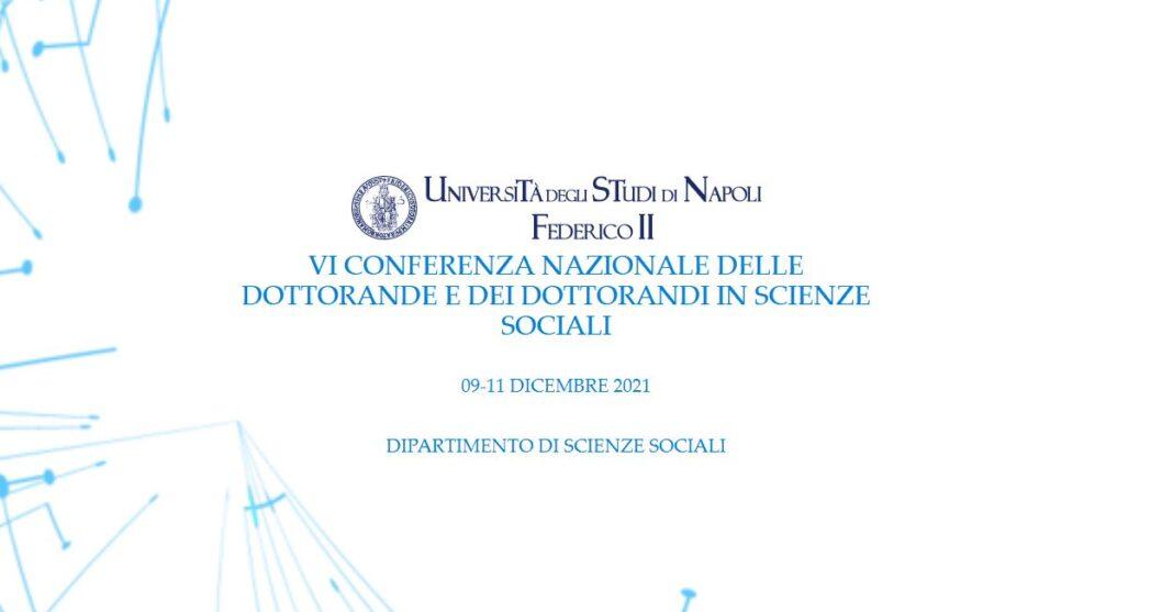 conferenza dottorandi scienze sociali napoli 2021